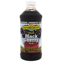 Pure Black Cherry, 100% Juice Concentrate, Unsweetened, 16 fl oz (473 ml) - фото