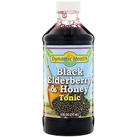 Black Elderberry & Honey Tonic, 8 fl oz (237 ml) - фото