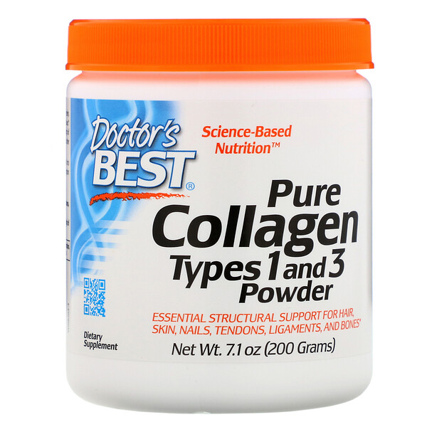 Pure Collagen Types 1 and 3 Powder, 7.1 oz (200 g)