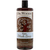 Dr. Woods, Raw Black Soap with Fair Trade Shea Butter, Unscented, 32 fl oz (946 ml)