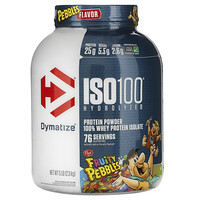 ISO100 Hydrolyzed, 100% Whey Protein Isolate, Fruity Pebbles, 5 lb (2.3 kg) - фото