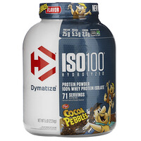 ISO100 Hydrolyzed, 100% Whey Protein Isolate, Cocoa Pebbles, 5 lb (2.3 kg) - фото