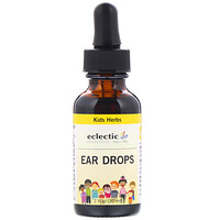 Kids Herbs, Ear Drops, 1 fl oz (30 ml) - фото