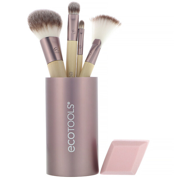 EcoTools, Festive and Flawless Beauty Kit, набор из 6 компонентов (Discontinued Item)
