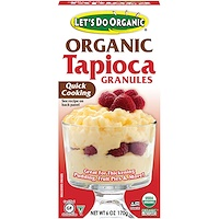 Edward & Sons, Let's Do Organic, Organic Tapioca Granules, 6 oz (170 g) - фото