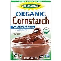 Edward & Sons, Let's Do Organic, Organic Cornstarch, 6 oz (170 g) - фото