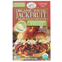 Organic Young Jackfruit, Unseasoned Pieces, 7 oz (200 g) - фото
