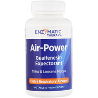 Air-Power, Guaifenesin Expectorant, 100 Tablets - фото