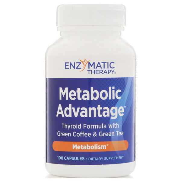 Metabolic Advantage, метаболизм, 100 капсул