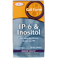 Cell Forté, IP-6 & Inositol, 120 Veg Capsules - фото