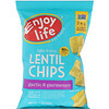 Enjoy Life Foods, Light & Airy Lentil Chips, Garlic & Parmesan Flavor, 4 oz (113 g)