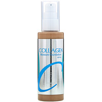 Collagen, Moisture Foundation, SPF 15,  #21, 3.38 fl oz (100 ml) - фото