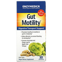 Gut Motility, Digestive Transport Support, 30 Capsules - фото