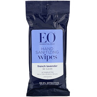 Hand Sanitizing Wipes, Lavender, 6 Pack - фото