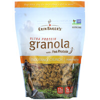 Ultra Protein Granola with Pea Protein, Peanut Butter, 12 oz (340 g) - фото