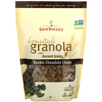 Homestyle Granola with Ancient Grains, Double Chocolate Chunk, 12 oz (340 g) - фото
