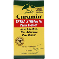 Curamin, Extra Strength Pain Relief, 60 Tablets - фото
