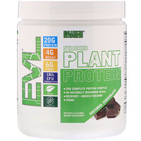 Stacked Plant Protein, Natural Chocolate, 0.41 lbs (185 g) - фото