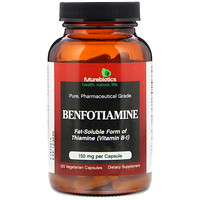Benfotiamine, Fat-Soluble Form of Thiamine(Vitamin B-1), 120 Vegetarian Capsules - фото