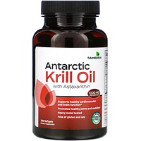 Antarctic Krill Oil with Astaxanthin, 1,000 mg, 180 Softgels - фото