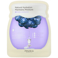 Natural Hydration Maintains Moisture, Blueberry Hydrating Mask, 5 Sheets, 0.91 oz (27 ml) Each - фото