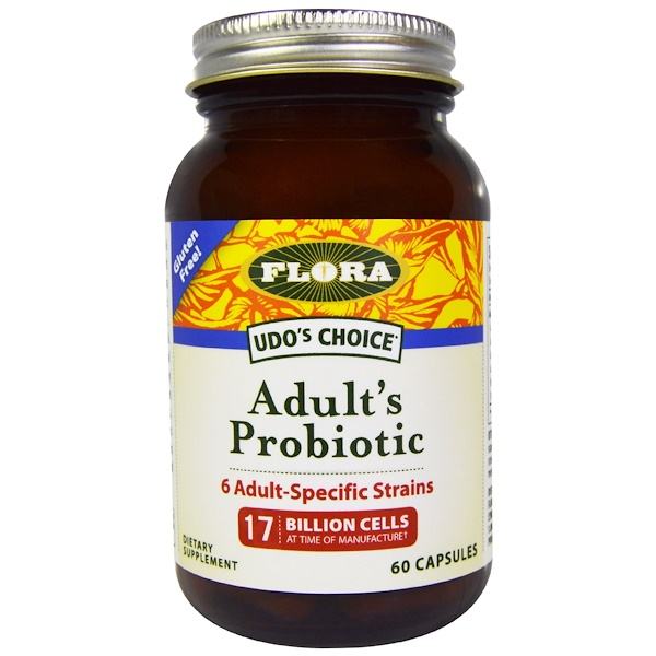 Udo's Choice, Adult's Probiotic, 60 капсул