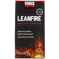 LeanFire, Fast-Acting Weight Loss Formula, 30 Capsules - фото