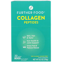 Collagen Peptides, Unflavored, 22 Packs, 0.28 oz (8 g) Each - фото