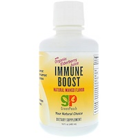 Immune Boost, Natural Mango Flavor, 16 fl oz (480 ml) - фото