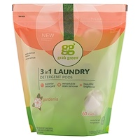 3-in-1 Laundry Detergent Pods, Gardenia, 60 Loads,2lbs, 6oz (1,080 g) - фото