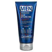 Art Of Giovanni, Men Hair Styling Gel with Ginseng and Eucalyptus, 6.8 fl oz (201 ml) - фото