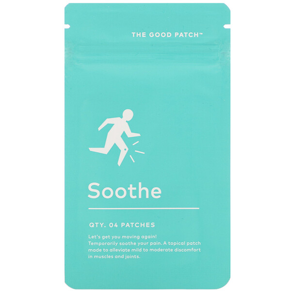 Soothe,  4 Patches