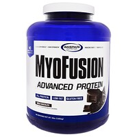 MyoFusion, Advanced Protein, Milk Chocolate, 4 lbs (1.81  kg) - фото