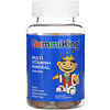 GummiKing, Multi-Vitamin + Mineral for Kids, Strawberry, Orange, Lemon, Grape, Cherry and Grapefruit, 60 Gummies