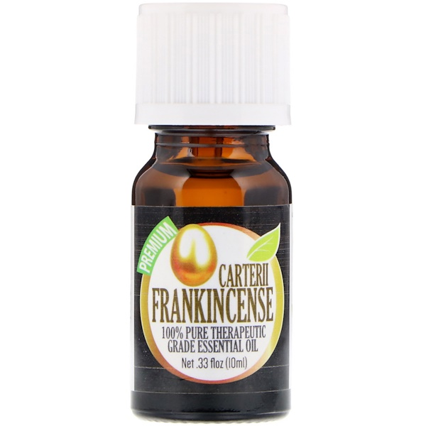 100% Pure Therapeutic Grade Essential Oil, Carterii Frankincense, 0.33 fl oz (10ml)