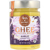 4th & Heart, Ghee Butter, Grass-Fed, Garlic, 9 oz (255 g)