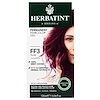 Herbatint, Permanent Haircolor Gel, FF 3, Plum, 4.56 fl oz (135 ml)