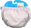 i play Inc., Swim Diaper, Reusable & Absorbent, 24 Months, White, 1 Diaper