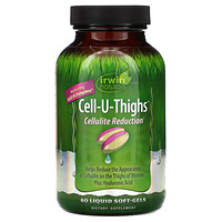 Cell-U-Thighs, Cell Reduction, 60 Liquid Soft-Gels - фото