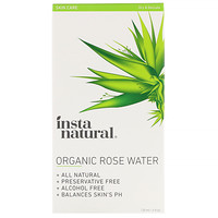 Organic Rose Water, Alcohol-Free, 4 fl oz (120 ml) - фото