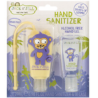 Hand Sanitizer, Monkey, 2 Pack, 0.98 fl oz (29 ml) Each and 1 Case - фото