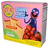 Earth's Best, Organic Sunny Days Snack Bars, Strawberry, 8 Bars, 0.67 oz (19 g) Each