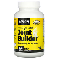 Joint Builder, Glucosamine Sulfate with MSM, 120 Tablets - фото