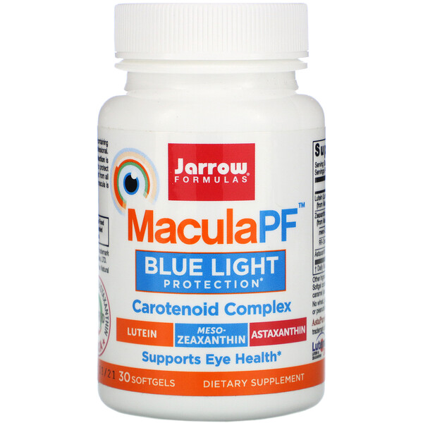 MaculaPF, Blue Light Protection, 30 Softgels