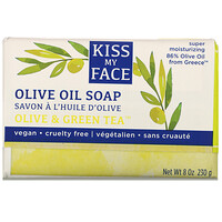 Olive Oil Soap, Olive & Green Tea, 8 oz (230 g) - фото