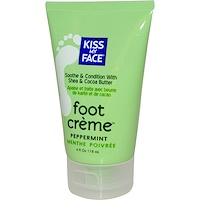 Foot Creme, Peppermint, 4 fl oz (118 ml) - фото