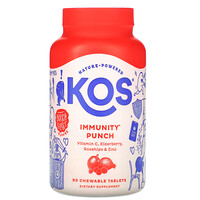 Immunity Punch, Berry Blast Flavor, 90 Chewable Tablets - фото