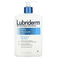 Daily Moisture Lotion, Normal to Dry Skin, 16 fl oz (473 ml) - фото