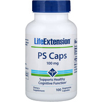 PS Caps, 100 mg, 100 Vegetarian Capsules - фото