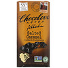 Chocolove, Chocolate Filled Salted Caramel in Dark Chocolate, 55% Cocoa, 3.2 oz (90 g)